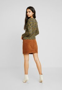 Object - Mini skirt - brown patina - 2