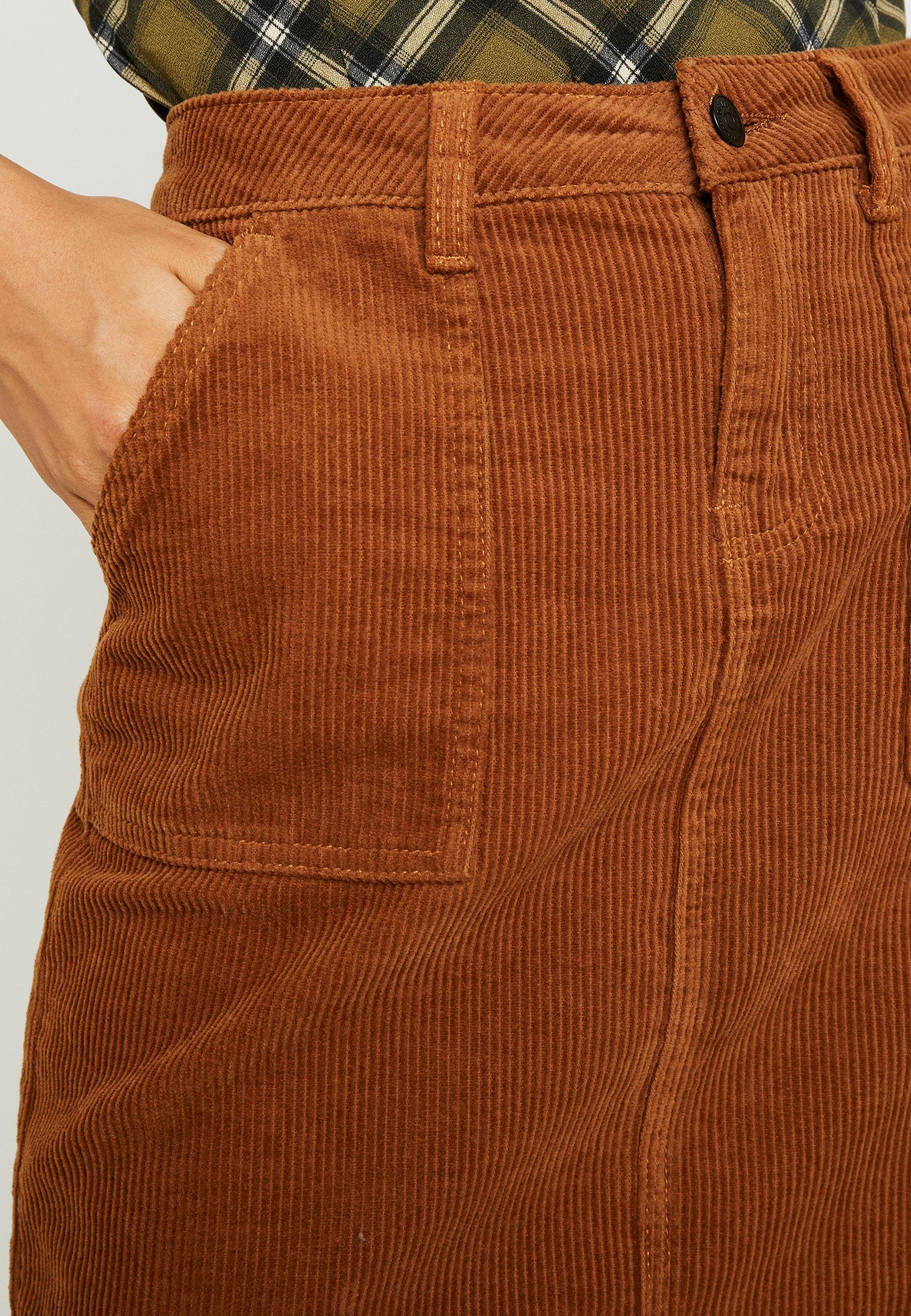 Object Minigonna brown patina
