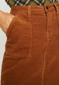 Object - Mini skirt - brown patina - 4