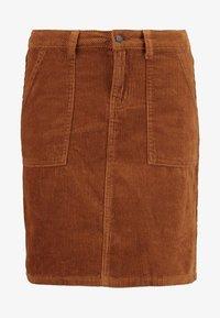 Object - Mini skirt - brown patina - 3