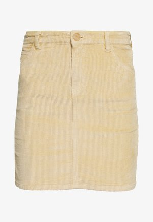 OBJIBI RUNA SKIRT - Minifalda - sand