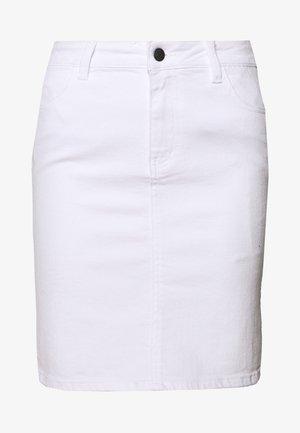 OBJWIN - Falda vaquera - white denim