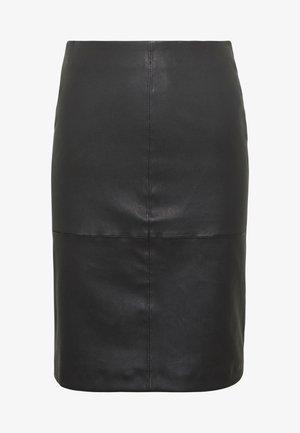 OBJTILDE SKIRT - Pencil skirt - black