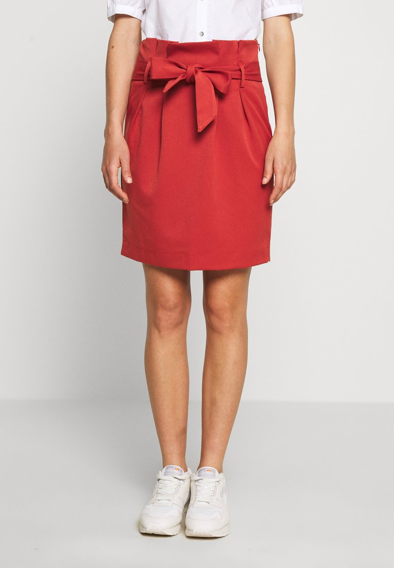 Object - OBJLISA ABELLA MINI SKIRT SEASONAL - A-line skirt - tandori spice