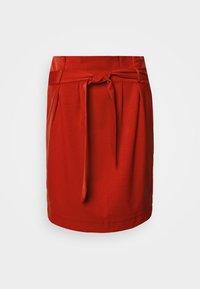 Object - OBJLISA ABELLA MINI SKIRT SEASONAL - A-line skirt - tandori spice - 3