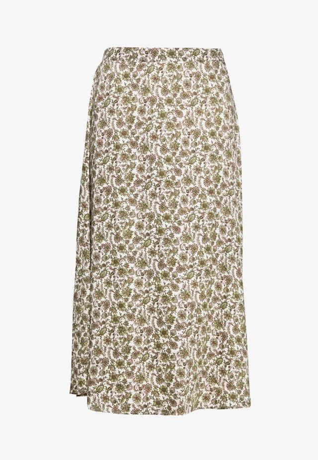 OBJKALILA SKIRT - Pencil skirt - multi coloured