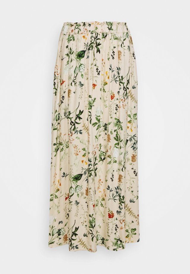 OBJALBA LONG SKIRT - Maxi sukně - multi coloured