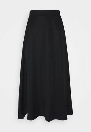 OBJTILDA SKIRT - A-line skirt - black