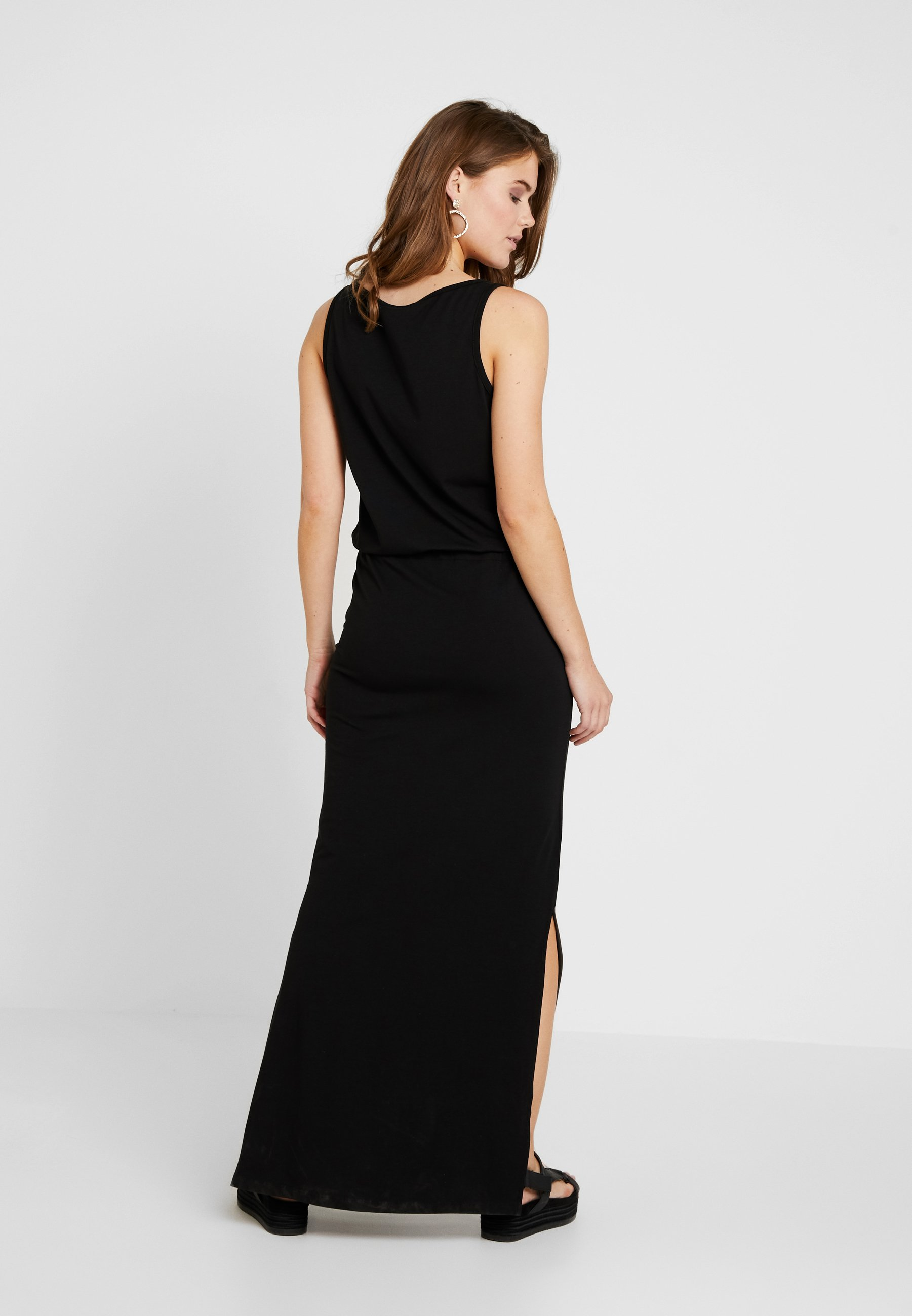 Longue Object DressRobe Black Maxi Objstephanie hdtsQr