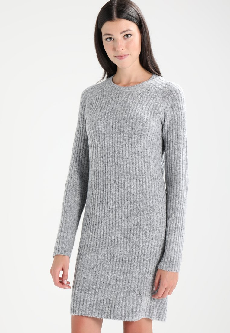 Object - OBJNONSIA  - Strikkjoler - light grey melange