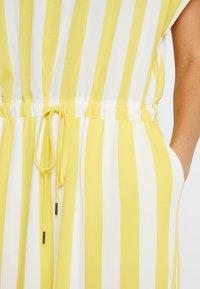 Object - OBJBAY DALLAS DRESS SEASON - Robe d'été - yellow/white - 5