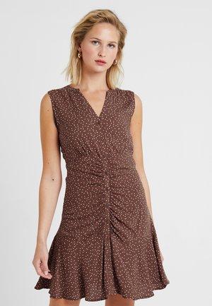 Vestido informal - brown patina/white
