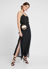 Object - Maxi šaty - black/white - 1
