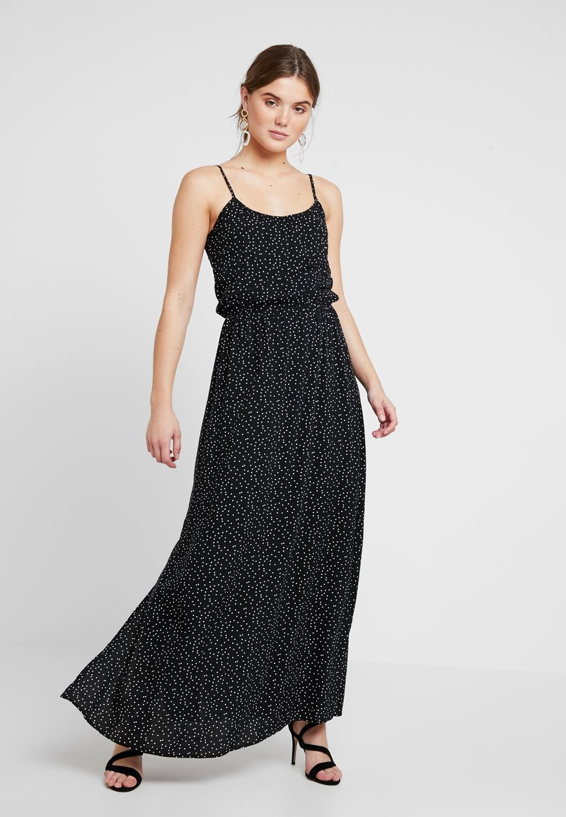 Object - Maxi šaty - black/white