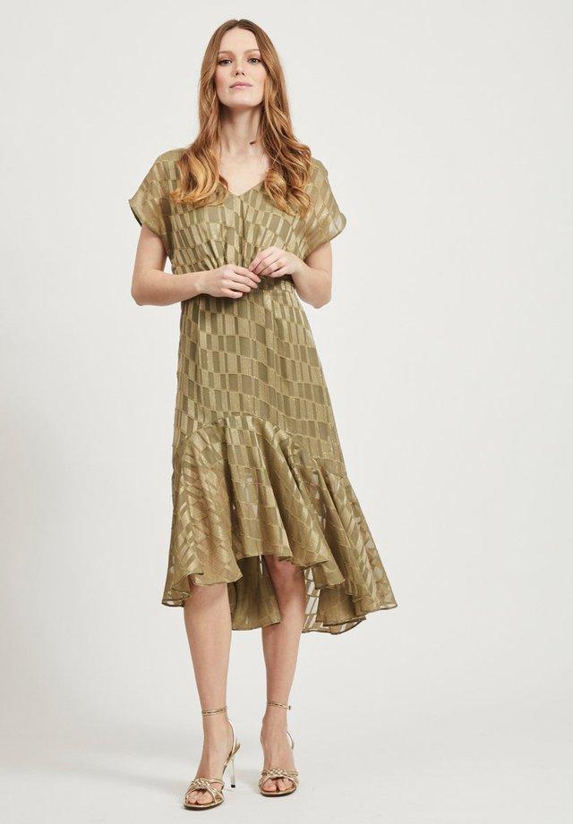 KLEID FEMININES - Cocktail dress / Party dress - burnt olive