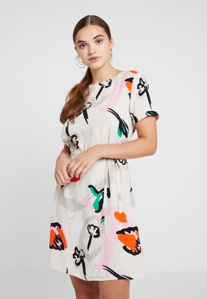 Day dress - off-white/multi-coloured