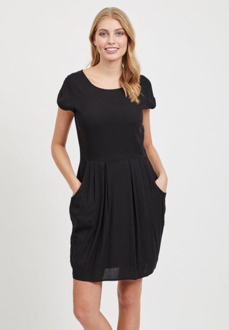 Object - ÄRMELLOSES - Day dress - black