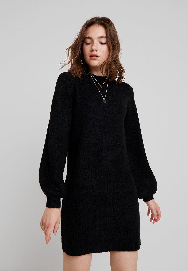 Object - OBJEVE NONSIA DRESS - Strickkleid - black
