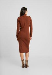 Object - Jumper dress - brown patina - 3