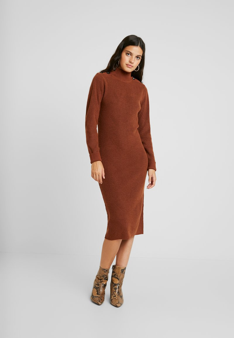 Object - Jumper dress - brown patina