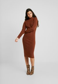 Object - Jumper dress - brown patina - 2