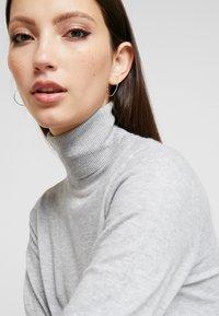 Object - Strikket kjole - light grey melange - 4
