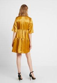 Object - OBJJUNE DRESS - Robe d'été - buckthorn brown - 3