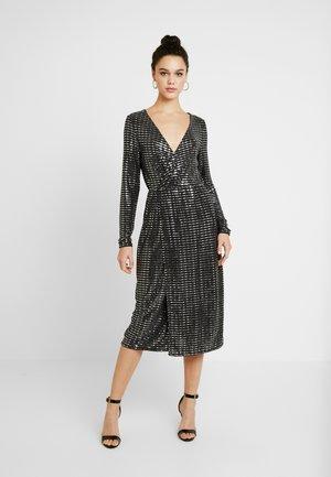 Cocktail dress / Party dress - black/silver sequince