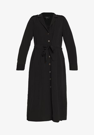 OBJMAE DRESS - Shirt dress - black