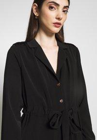 Object - OBJMAE DRESS - Robe chemise - black - 4