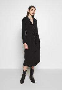 Object - OBJMAE DRESS - Robe chemise - black - 0