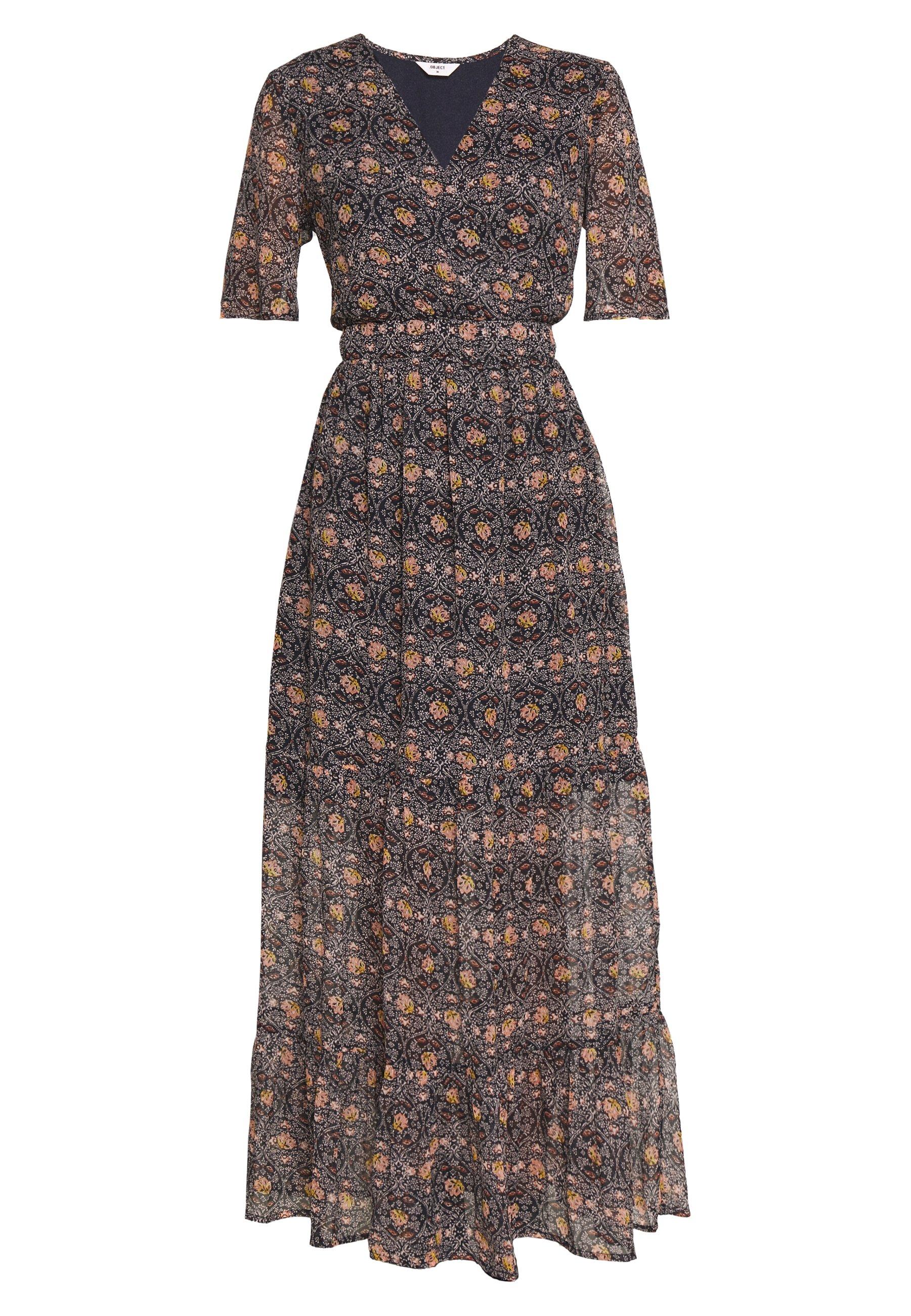 Object OBJEDDY FIOLA LONG DRESS - Długa sukienka - sky captain