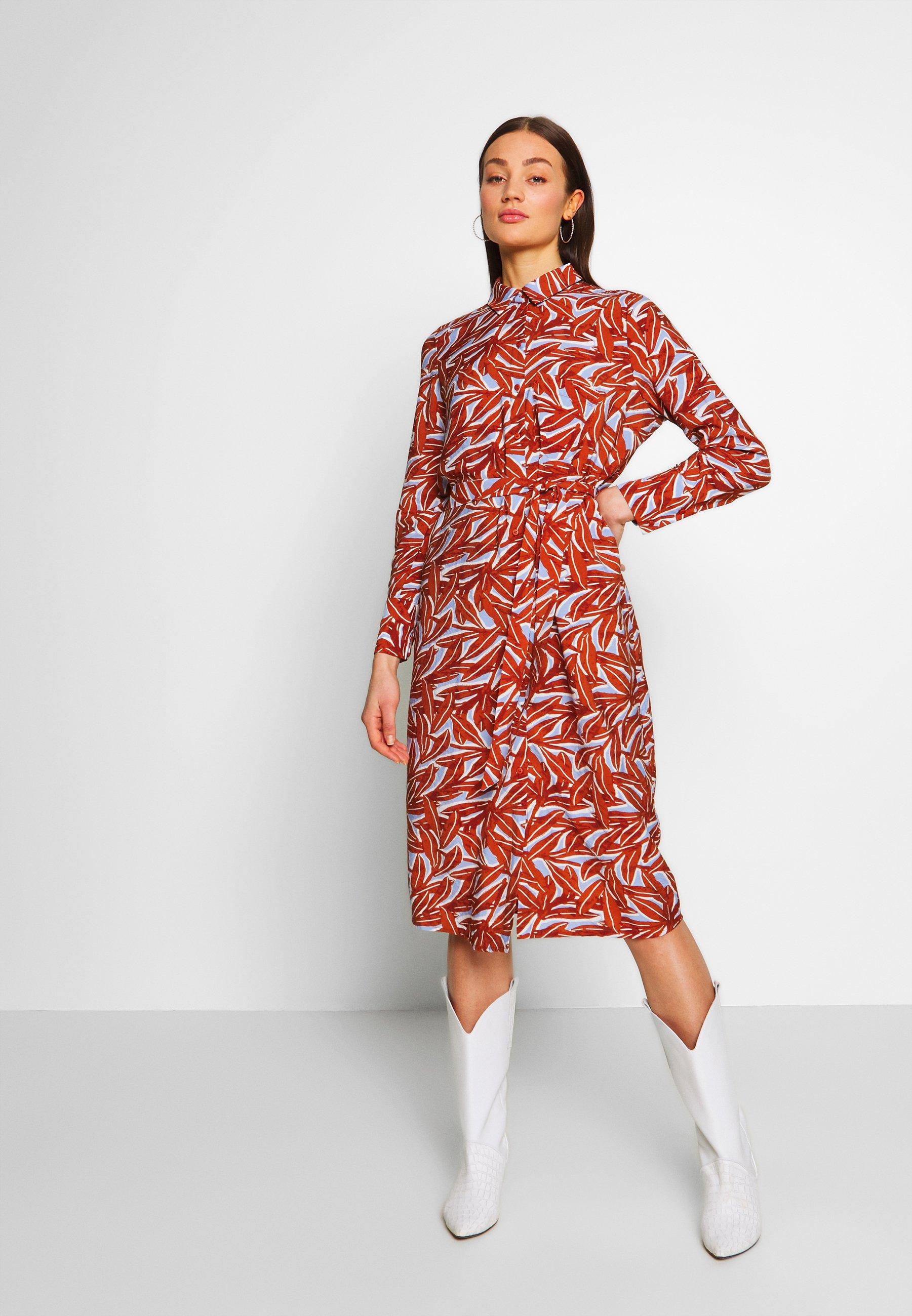 Object OBJORRIE DRESS - Sukienka koszulowa - sugar almond
