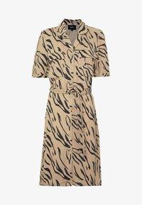 Object - OBJTHELMA DRESS  - Vestido camisero - incense/black - 4