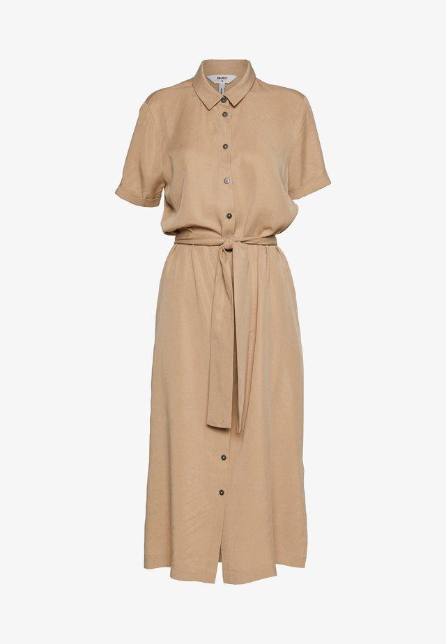 OBJTILDA ISABELLA DRESS SEASONA - Skjortklänning - incense