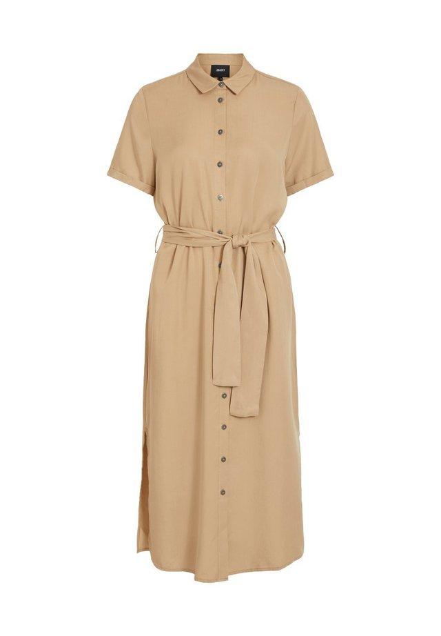 OBJTILDA ISABELLA S/S DRESS NOOS - Shirt dress - incense