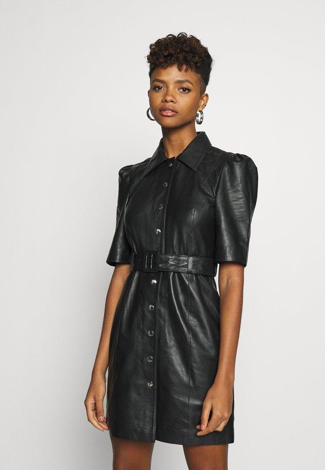 OBJSTAR  DRESS  - Shirt dress - black