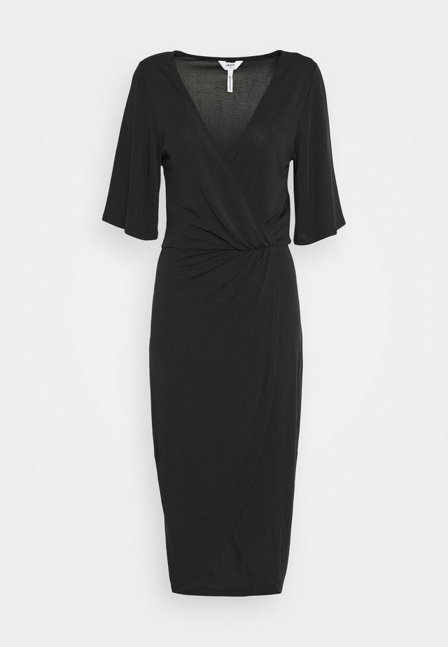 OBJNADINE DRESS - Jerseyjurk - black