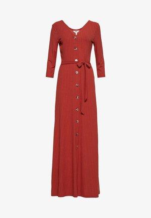 OBJVIOLETTA MAXI DRESS 108 - Maxi-jurk - tandori spice