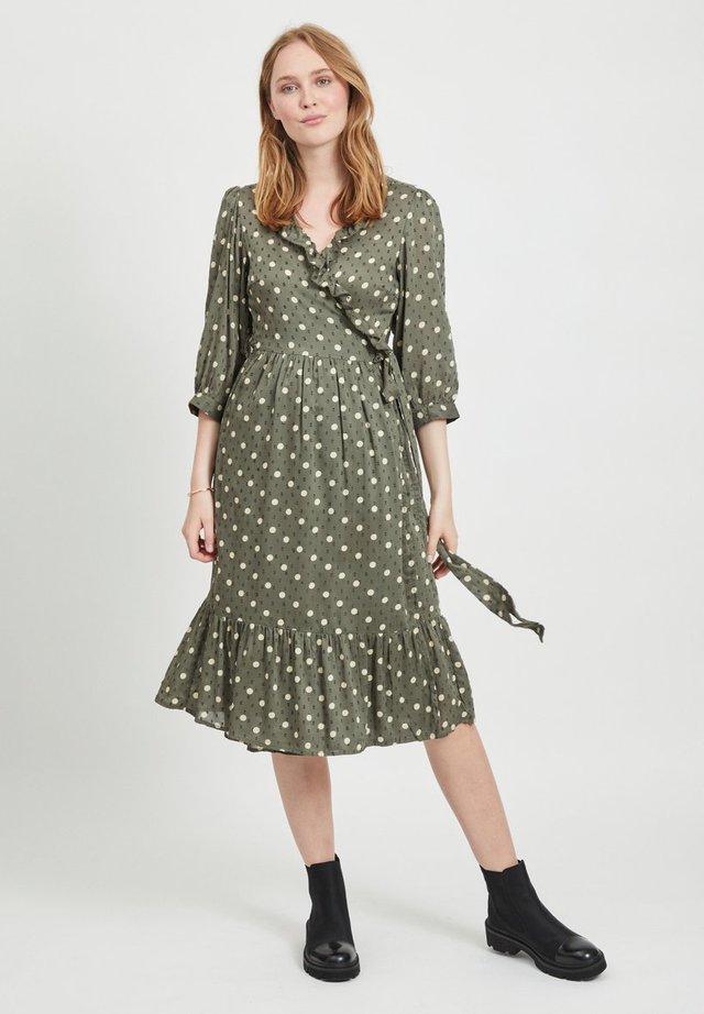PHOENIX  - Vapaa-ajan mekko - burnt olive