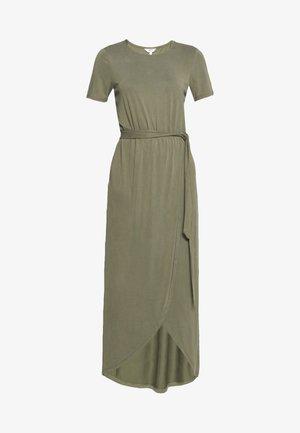 JANNIE NADIA  - Vestito lungo - burnt olive