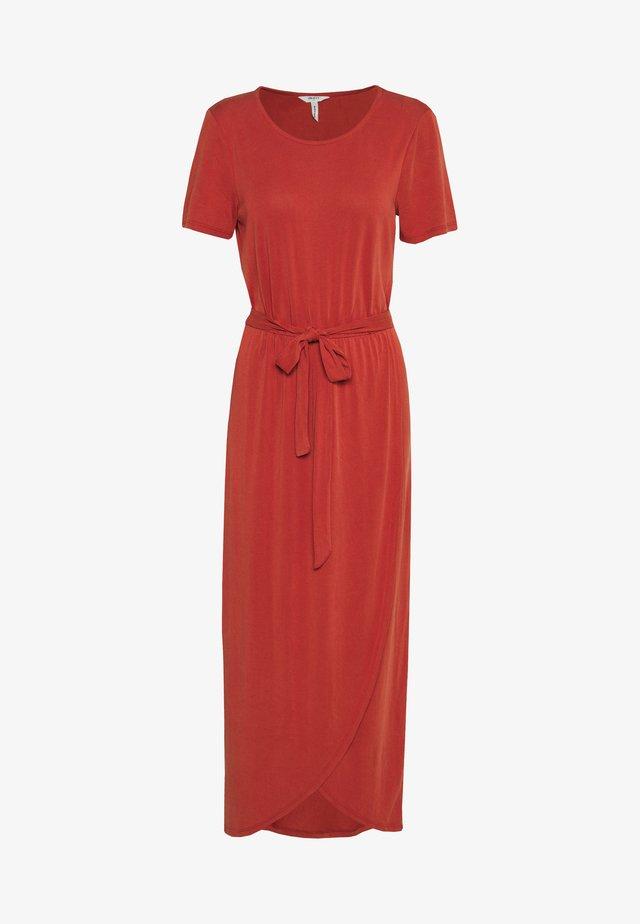 OBJANNIE NADIA DRESS SEASONAL - Maxi dress - tandori spice
