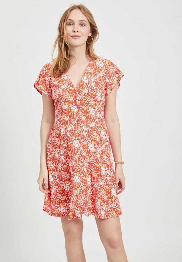 OBJBARB AYA DRESS - Shirt dress - poinciana