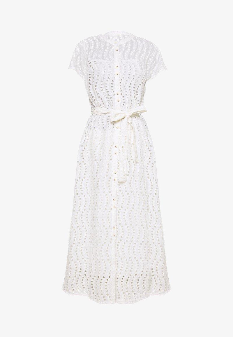 Object - OBJTARGO LONG DRESS - Robe chemise - gardenia