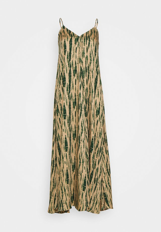 OBJBIA LONG STRAP DRESS - Korte jurk - incense