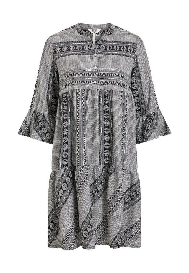 3/4 ÄRMEL - Day dress - grey