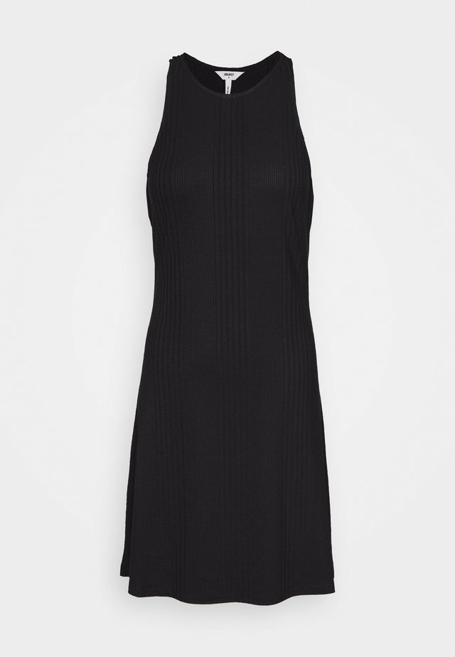 OBJCELIA SHORT DRESS - Korte jurk - black