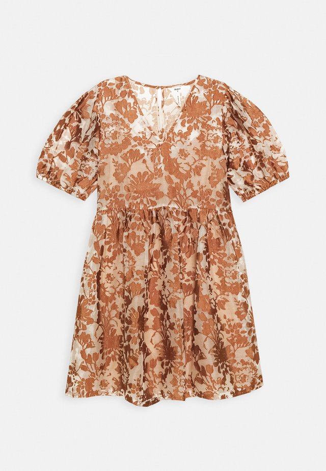 OBJALICE SHORT DRESS FAIR - Denní šaty - sugar almond