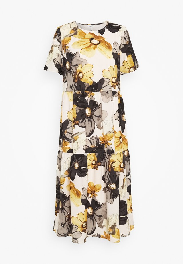 OBJLARA LONG DRESS FAIR - Denní šaty - gardenia