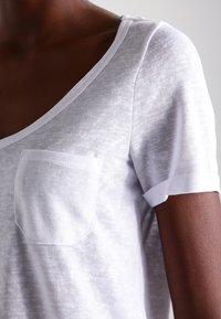 Object - OBJTESSI SLUB - Basic T-shirt - white - 3